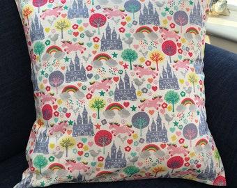 Fantasy Scene Cushion Cover