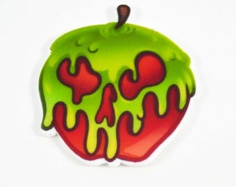 Wicked Green Apple Movies Cup Cake Toppers Planar Resin Cabochon Embellishments