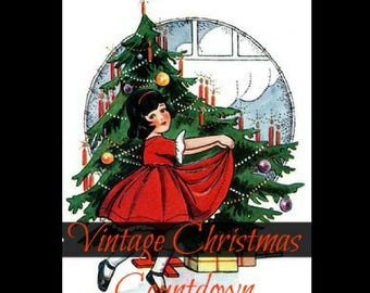 PRINTABLE -The Vintage Christmas Countdown-fascinating-illustrated-articles- PDF Ebook