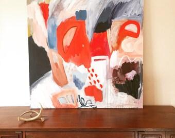 Original Abstract Art on Canvas, home decor, modern art