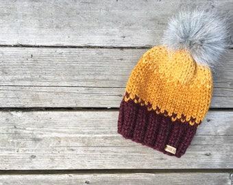 Hakuna Matata knit beanie, fall and winter accesory, newborn to adult, african inspiration