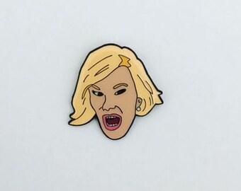 Joan Rivers Enamel Pin