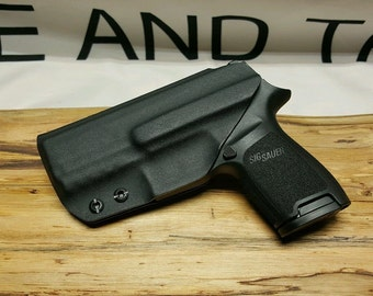SIG P320 Compact Kydex IWB Holster ** Ready to Ship**Lifetime Warranty**BLK**