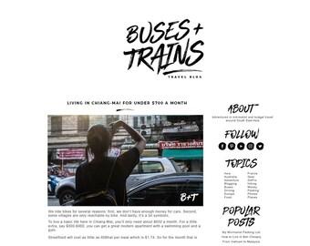 Custom Blog Logo AND Website Branding || Brand Identity || Custom Logo || Website Design || Blog Design || Branding Package