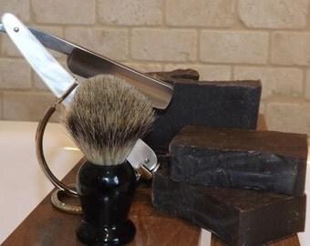 Shave Bar Soap - All Natural, Goats Milk, Handmade Soap, antibacterial, cold process soap