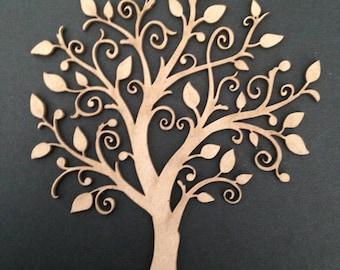 Beautiful Chipboard Tree