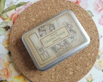 Wooden stamps Alice 01 4 piece set