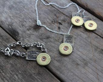 Hide Your Crazy Jewelry set shotgun jewelry shotgun shell jewelry miranda lambert jewelry shotgun shell jewelry set custom shotgun shell