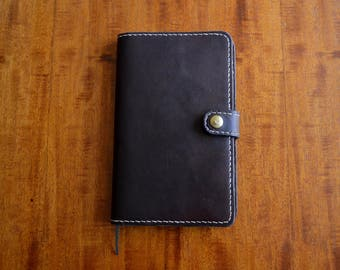 Leather Moleskine Diary and Notebook Cover