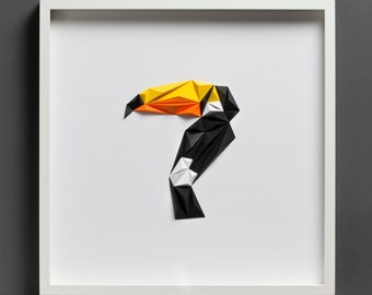Paper Art: Toucan