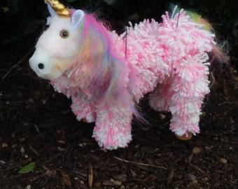 Unicorn marionette