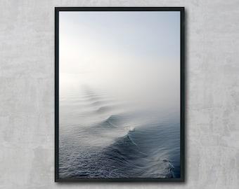 Ocean, Sea, Wave, Wall Art Printable, Instant Download, Modern Art, Digital Print
