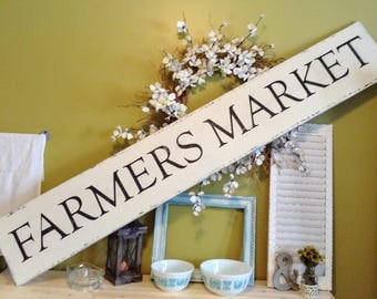 Farmers Market Sign, Farmers Market Decor, Farmers Market, Farmhouse Decor, Farmhouse Style, Farmhouse Wall Decor