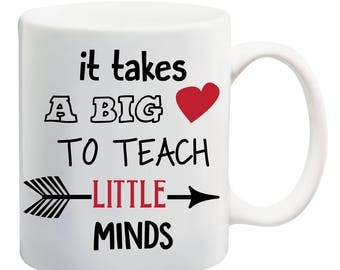 It takes a big heart to teach little minds - SVG, DXF, JPG and other formats in description. Teacher appreciation gift from student, child