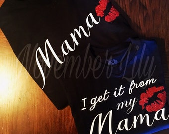 Mommy and me mother daughter shirts