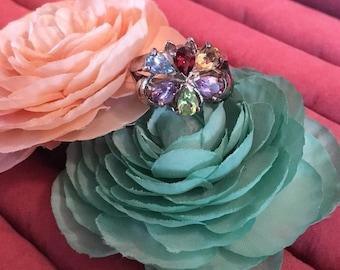 Bountiful Bouquet ring sz 10