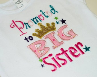 Promoted to Big Sister T-Shirt