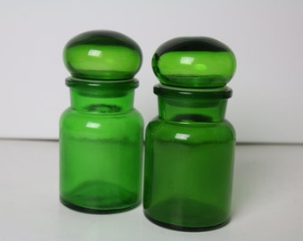 2 x Medicine jar made in Belgium