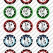 101 Dalmations Digital Bottle Cap Images Cupcake Toppers Instant Download Party Supply Birthday Party 1 Inch Circle