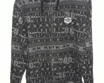 Mambo fullprint zipper hoody