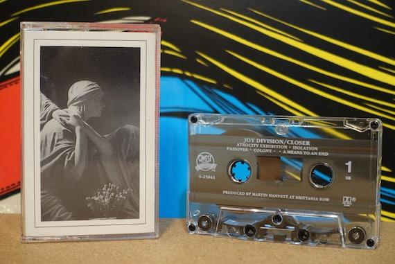 Closer by Joy Division Vintage Cassette Tape