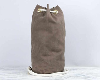 Waxed Canvas Ditty Bag