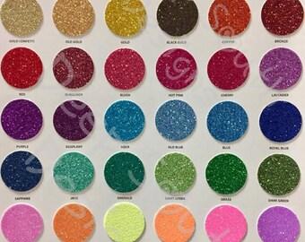 Siser Glitter HTV, 5 Yard Roll, Glitter Vinyl, Glitter Heat Vinyl, Any Color, Fast Shipping, Tee Vinyl, Shirt Vinyl