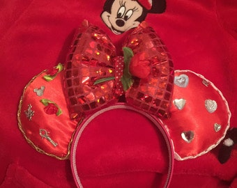 Queen of hearts mickey ears