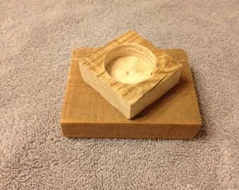 Set of 2! Refurbished pallet wood tealight holder (FREE SHIPPING!)