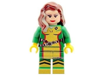 Custom Design Minifigure - Rogue Printed On LEGO Parts