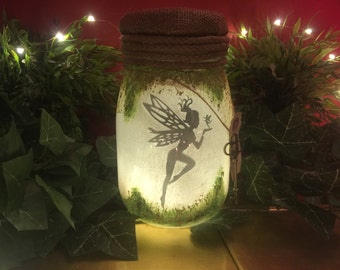 Fairy jar light