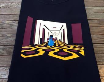 The Shining T Shirt Stephen King Stanley Kubrick Horror Story Overlook Hotel Jack Nicholson