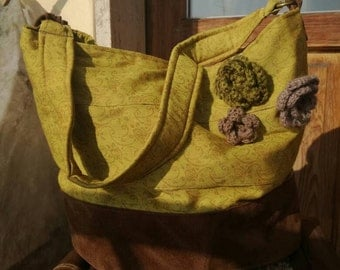 Yellow cloth bag