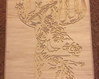 Deer - Buck Plaque
