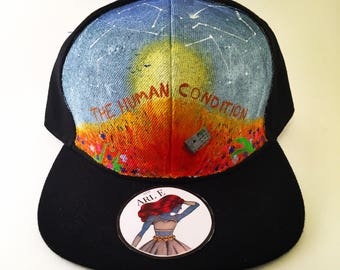 Jon Bellion | The Human Condition | Hand Painted | Snapback