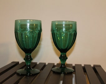 Turquoise Goblets - Set of 2