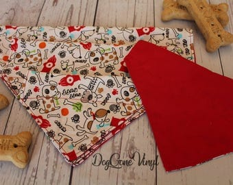 Dog Bandana - Free Shipping