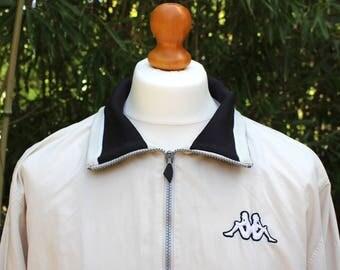 Retro 90's Kappa Track Jacket - Size Large
