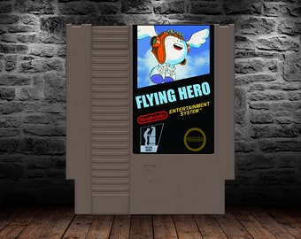 Flying Hero - Unreleased - Shoot em' up action at its best - NES