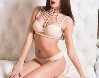 Body harnes nude