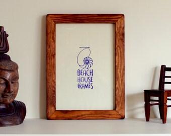 Handmade Rustic Picture Frame | Sizes A3, A4, A5, 4x4, 5x5, 6x6, 6x8, 8x10, 11x14 | Antique | Wedding | Photo | Vintage | Retro | Modern
