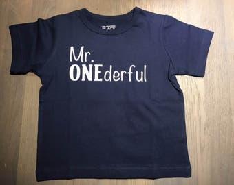 Mr. ONEderful T-shirt