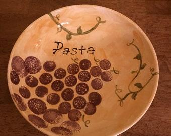 Small Ceramic Pasta Bowl