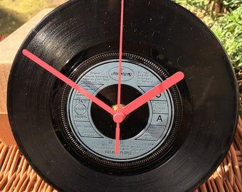 Vintage Vinyl Record Clock - Village People - Go West