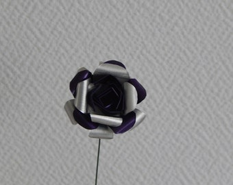 Eternal rose in dark purple nespresso capsules
