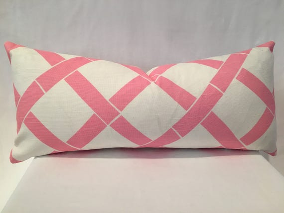 "10"" x 22"" bubble gum pink bamboo print"