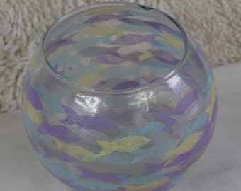 Silver Fish Bowl