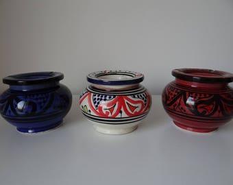 Morocco - Safi - Moroccan ashtray made hand - pottery