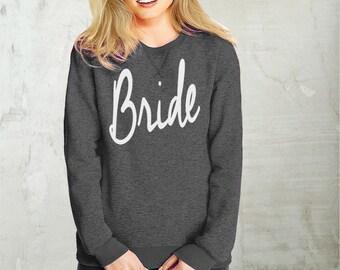 Bride- sweatshirt eco cotton blend