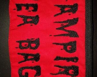 Vampire Tea Bags In The Hoop Zippered Bag DIGITAL FILE 5x7